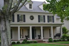 More Painted Brick Homes…{And my favorite!} | Beneath My Heart
