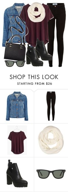 """Style #11083"" by vany-alvarado ❤ liked on Polyvore featuring Madewell, New Look, Office, Humble Chic and Ray-Ban"