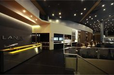 Sala VIP de LAN en Aeropuerto Internacional El Dorado, Bogotá...amoblada por Zientte