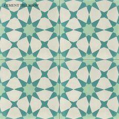 Tile Patterns, Cement Tile, Tile Murals, Romantic Bathrooms, White Kitchen Tiles, Wall Tiles, Contemporary Rug, Mosaic Tile Backsplash, Tile Design