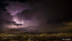 Thunderstorm in Athens, Greece. ANIA W PODRÓŻY travel blog and photography