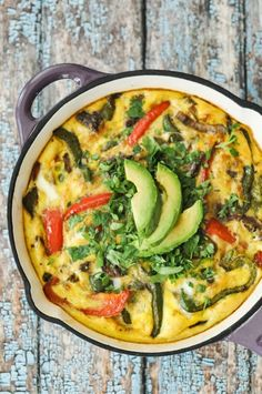 Southwestern Breakfast Frittata | Fed + Fit ...#paleo and perfect for make-ahead breakfasts!
