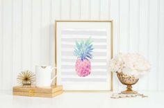 Ananas tendenza arredamento 2016 - Decorazioni in stile tropical