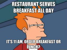 #Breakfast all day #Saturday and #Sunday