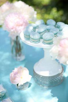 Tiffany Blue French Macarons