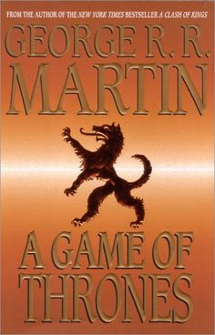 """This is the first book in the series """"A Song of Ice and Fire"""" by George R.R. Martin."""