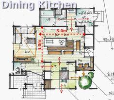 の House Plans, Floor Plans, How To Plan, Home, Arquitetura, Ad Home, Homes, House Floor Plans, Haus