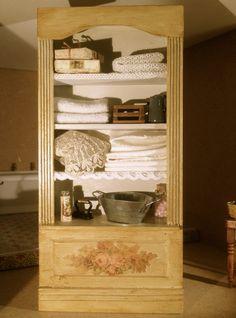 L'armoire à linge par Catherine B.
