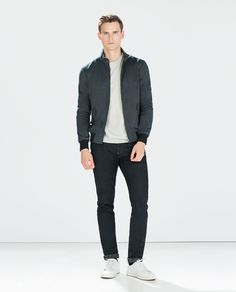 Image 1 of PIQUÉ JACKET from Zara