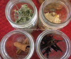 Homemade Vanilla, Almond, Mint & Cinnamon Extracts
