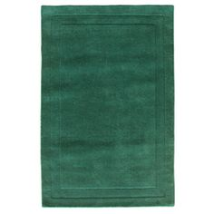 @Overstock - Simply designed with a classic border, this hand woven 100-percent wool pile rug is a great accent to any home or office decor. This rug can be very easily maintained with regular vacuuming and spot cleaning as needed.http://www.overstock.com/Home-Garden/Jovi-Home-Carved-Hand-made-Teal-Rug-5-x-8/6133053/product.html?CID=214117 $153.09