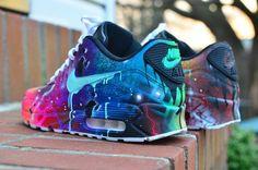 "Custom Nike ""GalactiMAX"" 90s $300.00"