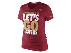 97744bd0c Nike Championship Bound Let s Go (NFL 49ers) Women s T-Shirt -  28.00 Super