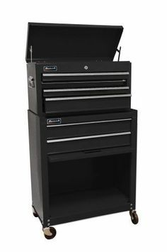 Mechanic HOMAK Tool Box 6 Storage Drawer Chest Cabinet Combo Roller Cart Workman