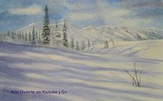 Cómo pintar nieve en acuarela - Montañas nevadas -  #arte #pintura #ArteDivierte #montañas #nieve #acuarela #tutorial #paisaje #artistleonardo #LeonardoPereznieto  Haz clíck aquí para ver mi libro: http://www.artistleonardo.com/#!ebooks/cwpc