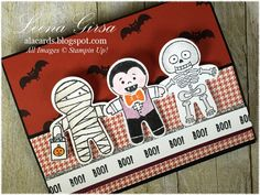 I hope you are enjoying the long weekend.the weather here has been absolutely perfect. Are you loving the Holiday C. Halloween Cards, Holidays Halloween, Halloween Fun, Halloween Cookie Cutters, Christmas Cookie Cutters, Fall Cards, Holiday Cards, Christmas Cards, Stampin Up Cookie Cutter