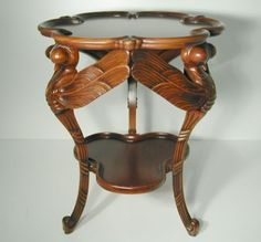 Art Nouveau  Dragonfly Table by Emile Galle