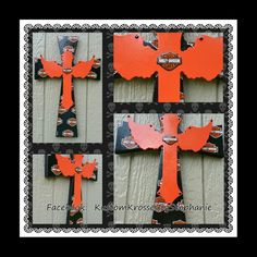 Harley Davidson Wall Cross