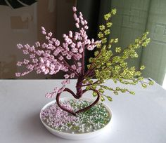 wire tree = would be cool to make it for all the seasons together