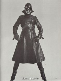 Atomage Pictures A5 Edition 27 Female Villains, Female Characters, Latex, Rubber Raincoats, Female Character Inspiration, Rain Wear, Leather Gloves, Catsuit, Vintage Leather