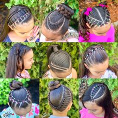 "1,105 Me gusta, 80 comentarios - 𝓐𝓭𝓻𝓲𝓪𝓷𝓪 (@little_princess_hairstyle) en Instagram: ""Hola Hermosas! Les compartimos nuestros peinados favoritos del 2020. Les deseamos un feliz y…"" Hair Styles, Beauty, Instagram, Amor, Sweetie Belle, Hairdos, Patterns, Hair Plait Styles, Haircut Styles"