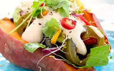 These baked sweet potatoes are vibrant, flavorful, and a breeze to make!