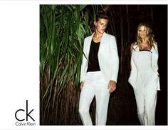 CK Calvin Klein spring/summer 2012 campaign - lara stone