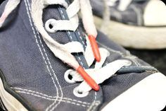 Use Sugru to repair broken/frayed lace ends.