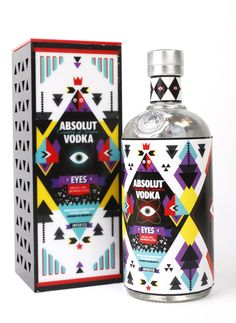 As long as we are pinning ABSOLUT. Great #vodka #packaging by Ayça ZUNAL, via Behance PD