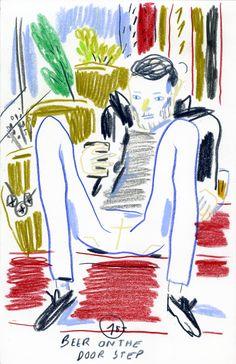 Edith Carron, Door step (2014)