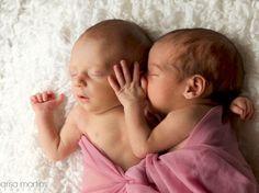 L.&B. 20 dias de vida | Sessão fotográfica de recém-nascidos