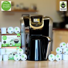 Want to #WIN a 30 Day supply of @krogerco's NEW @mysimpletruth #FairTrade #Coffee & a Keurig Brewer? Enter the #giveaway here: http://fairtrd.us/1KdPREj #Krogers #SimpleTruth #announcement #productlaunch #keurig