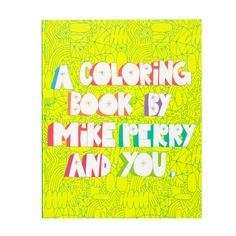 Colour Book by Mike, $14.95 #sportsgirl