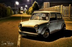 Stunning Mini In The Dark beautifully shot by Sam Preston! Love this picture, kudos to you Sam