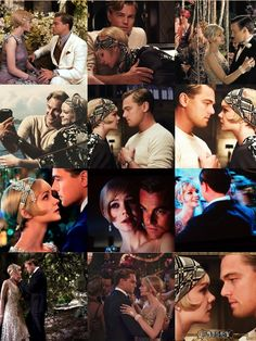 "The Great Gatsby Daisy Buchanan Jay Gatsby  Leonardo DiCaprio Carey Mulligan "" I wish I would have done everything on earth with you."""