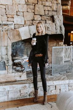 All Black fall outfit Source by lilblondebook fashion black women Fall Winter Outfits, Autumn Winter Fashion, Winter Style, Mode Outfits, Casual Outfits, Black Outfits, All Black Outfit Casual, Black Women Fashion, Womens Fashion