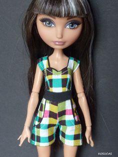 Overall for Ever After High dolls. por Kosucas en Etsy