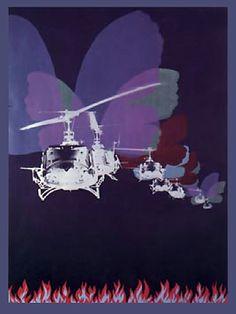 "Per Kleiva: ""Amerikanske sommarfuglar"" - 1971 Pop Art, Fine Art, Edvard Munch, Painting, Inspiration, Jewelry, Artists, Sculptures, Kunst"