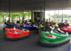 Carnival ride bumper cars