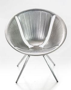 Fauteuil empilable Diatom / Aluminium Aluminium - Moroso - Décoration et mobilier design avec Made in Design