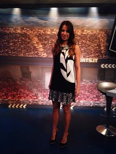 "Giulia Mizzoni - Sky Sport ""FoxSport live""- Indossa abito 1-ONE #1one #endorsement #collection #ss15 #1onepress #etabetapr #CelebrityEndorsement #etabetaprendorsement"