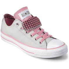 Converse Chuck Taylor® Double-Tongue Sneakers ($30) ❤ liked on Polyvore
