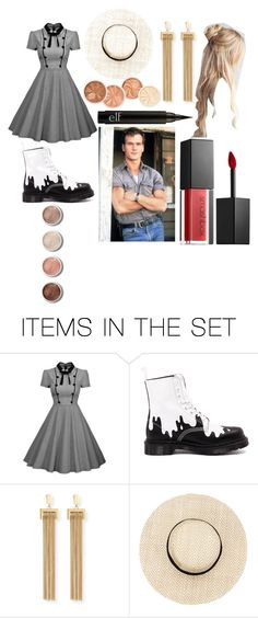 """On set with Patrick Swayze"" by ashleydirectioner2 ❤ liked on Polyvore featuring art"