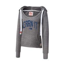 """CENA Training """"Earn It"""" Women's Tri-Blend Pullover Hoodie Sweatshirt"""