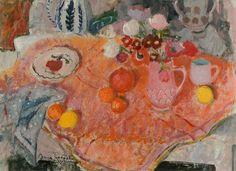 Your Paintings - Anne Redpath paintings Art Rose, Glasgow Museum, Tea Art, Still Life Art, Pink Art, Art Uk, Japanese Prints, Your Paintings, Painting & Drawing