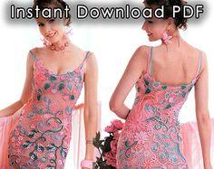 Instant Download PDF ebook crochet patterns. by Crochetpatterns2