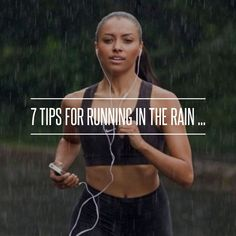 Cell phone in a ziplock works wonders! Rain running = my fave Running In The Rain, Running Day, Girl Running, Running Tips, Running Women, Running Princess, Trail Running, Running Routine, Running Workouts