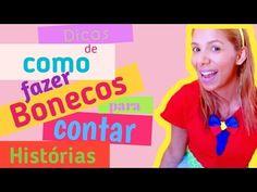 COMO FAZER BONECOS ( PARA CONTAR HISTÓRIAS)/Angélika Nascimento - YouTube