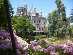 Quinta da Regaleira in bloom.