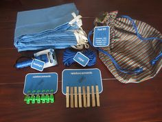 Make-your-own Fort Kit--cute gift idea (tutorial for bag and free printable tags)